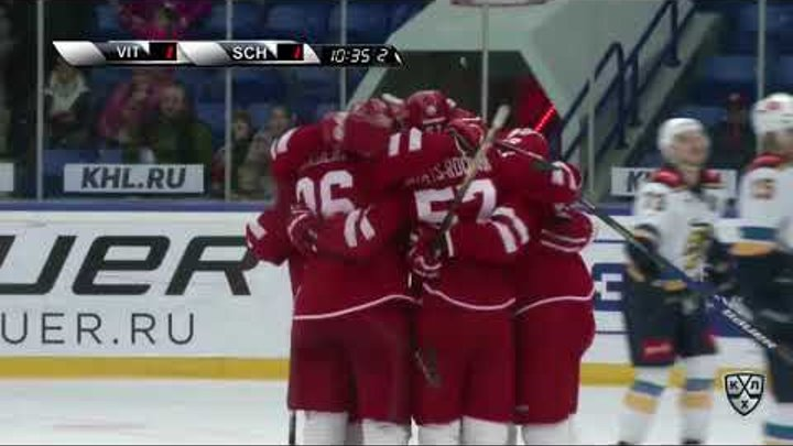 HC Sochi 4 Vityaz 2, 13 November 2017 Highlights