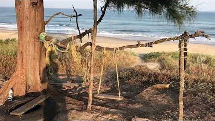 Пляж в Гоа где БЫЛИ Брэд ПИТТ и Анджелина ДЖОЛИ правда или ЛОЖЬ