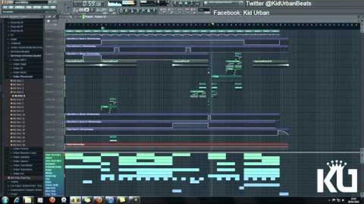 FL Studio 10 - Choir/Trap Style Kid Urban Beat 720p [HD]