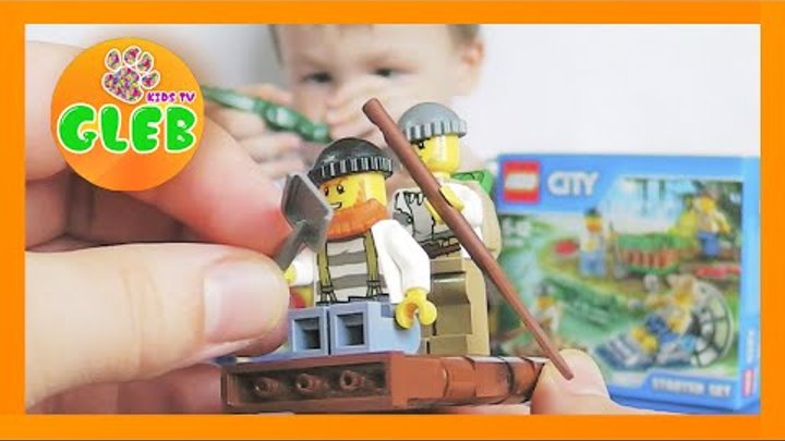 Лего Сити Лесная полиция конструктор Lego City Forest police unboxing