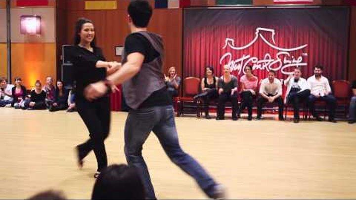 Jordan Frisbee & Virginie Grondin - Champions JnJ Budafest 2015