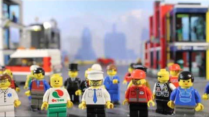 Lego Конструктор - Лего Сити - спасительная сеть для космического шаттла