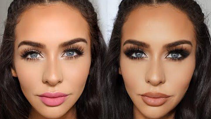 2 Valentine's Day Makeup LOOKS | Carli Bybel