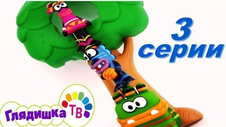 Куми Куми Лучшие любимые 3 серии Kumi Kumi Губка Боб, Цветок лотоса, сюрпризы с героями Диснея