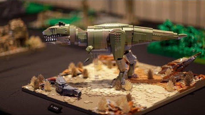 Lego World 2018 #4 Lego Fan, Динозавры , Тачки 3 и Star Wars