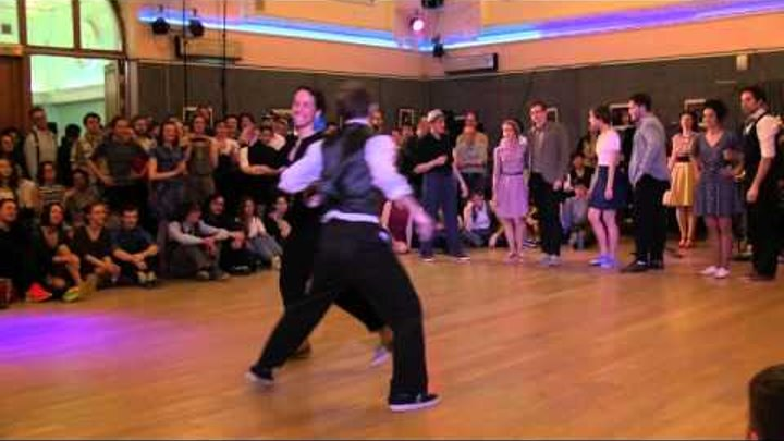 Lindy Hop Open Strictly Finals at Russian Swing Dance Championship 2016