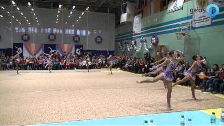 Команда чемпионов мира по эстетической гимнастике «Небеса»