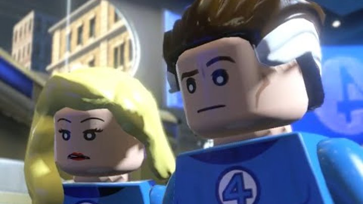 Lego Marvel The Movie Game - Walkthrough part 2 (HD) 2015