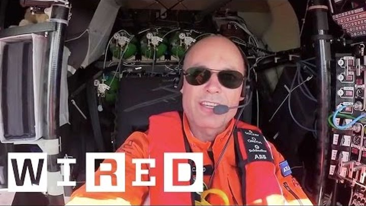 An exclusive insight into life on board Solar Impulse 2
