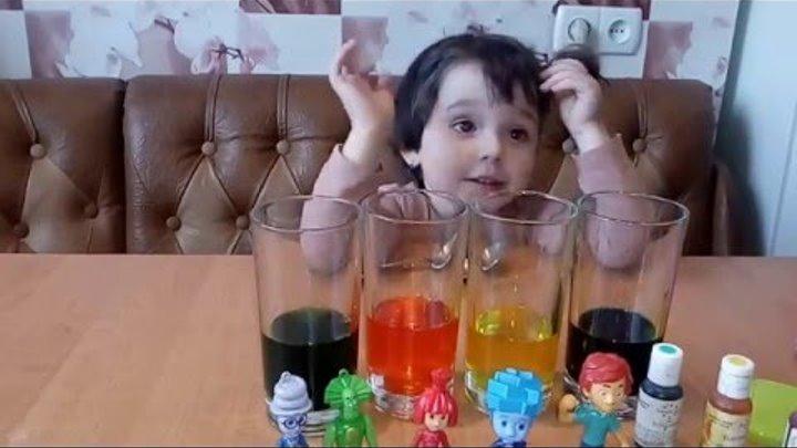 Фиксики ЦВЕТНАЯ ПЕНА Как Сделать Новые Серии Фиксики от Многодетная мама Fixiki new toys unboxing