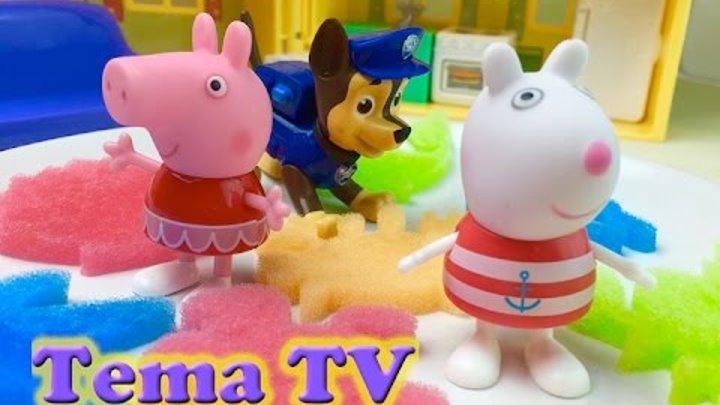 Щенячий патруль игра Свинка Пеппа Новая игрушка
