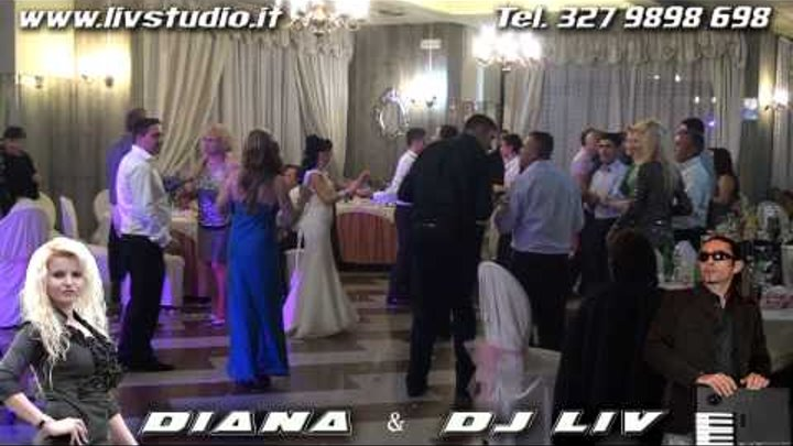 Dj Liv Alina Fara Iubire Dj Nunti Italia Torino Milano Roma