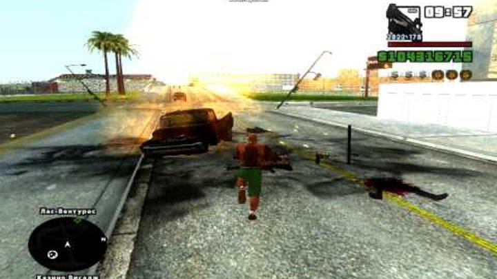 Самые страшные ужасы GTA San Andreas..