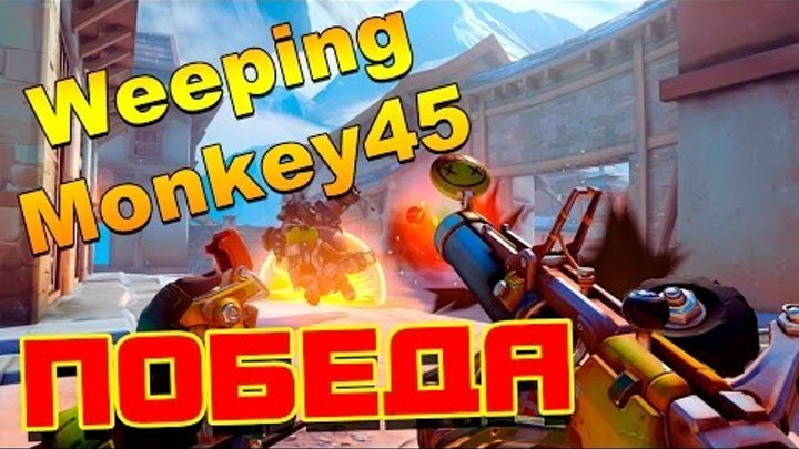 Overwatch - Gameplay - WeepingMonkey45 - снова победа