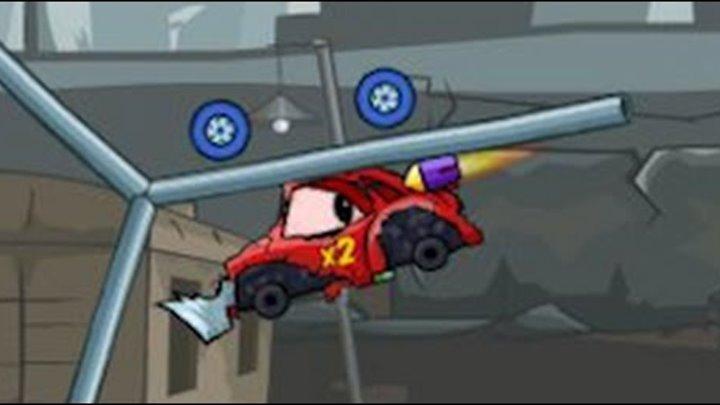 Мультик ИГРА для детей про МАШИНКИ МАШИНА ест МАШИНУ 4 Cartoon game for kids about cars