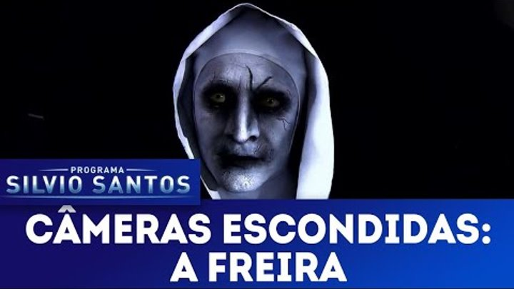 A Freira - The Nun страшный пранк сторож на кладбище