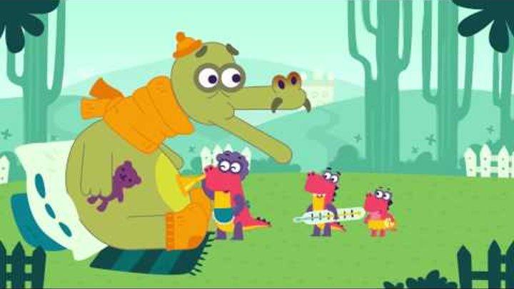 «Заврики». Серия 03 «Секретное снадобье» HD   Развивающие мультики для детей