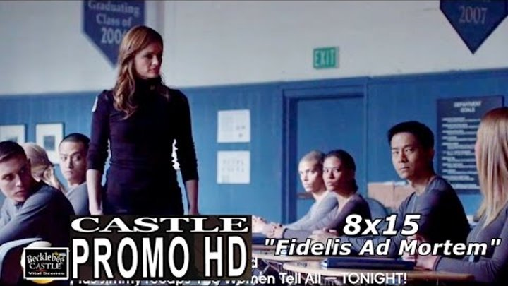"Castle 8x15 Promo - Castle Season 8 Episode 15 Promo ""Fidelis Ad Mortem"" (HD)"