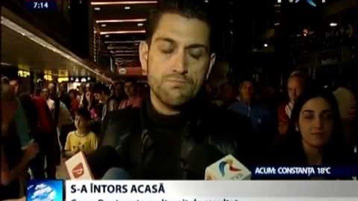 Eurovision 2013: Declaraţiile lui Cezar de pe Aeroportul Henri Coandă