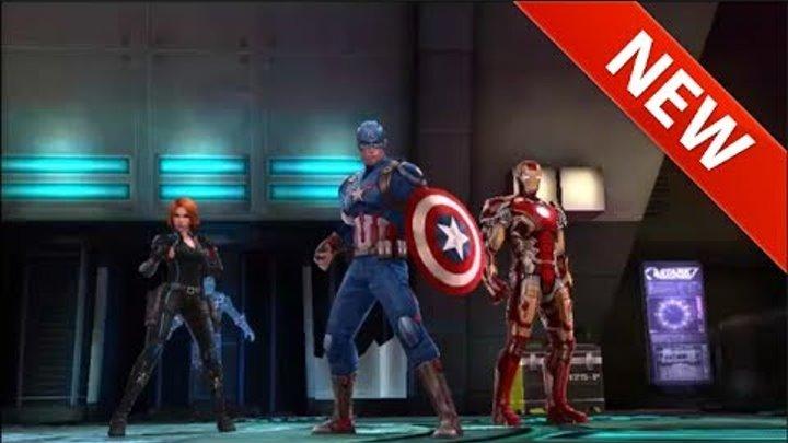 Мстители 2017 смотреть онлайн Мультик игра Железный человек, Черная вдова и Капитан Америки 1 серия