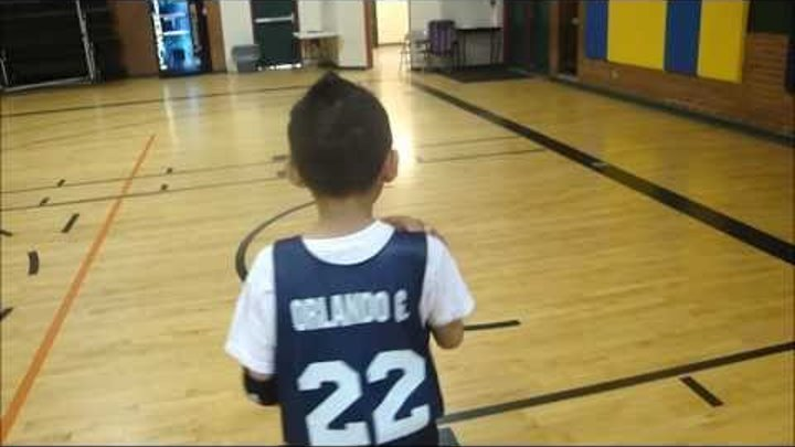 7 year old Basketball Player