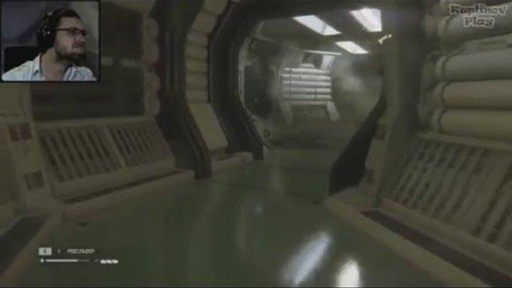 Куплинов Плей - смешные и страшные моменты в Alien: Isolation #2