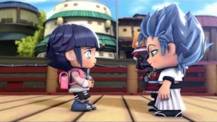 Pockie Ninja Naruto Bleach manga anime full-fledged battle Latest HD Video Trailer