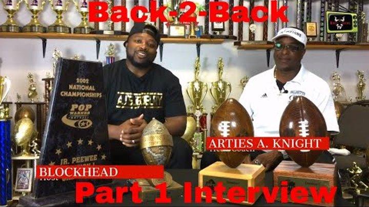 Palmetto Raiders Head Coach Arties A. Knight Interview Part 1