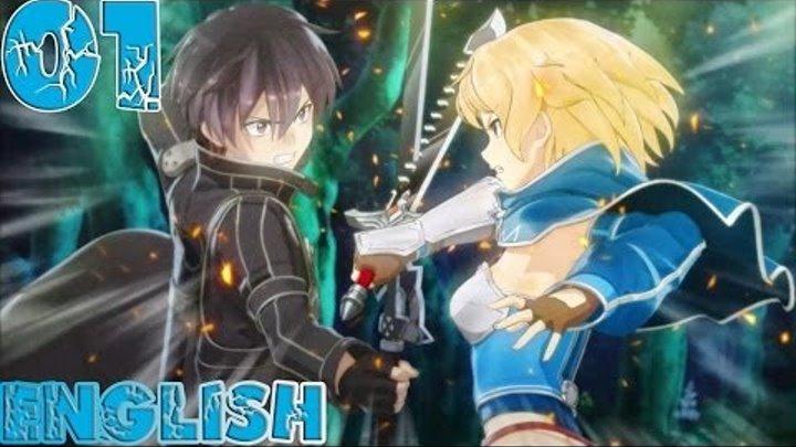 Sword Art Online: Hollow Fragment - Walkthrough Gameplay Part 01 - English PS Vita No Commentary