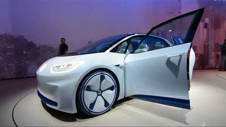 Электрокар будущего Volkswagen I D e mobile