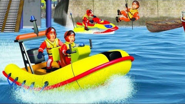Пожарный Сэм на русском  Ярмарка в Парке 🚒 вода спасает   Новые серии HD 🔥 мультфильм