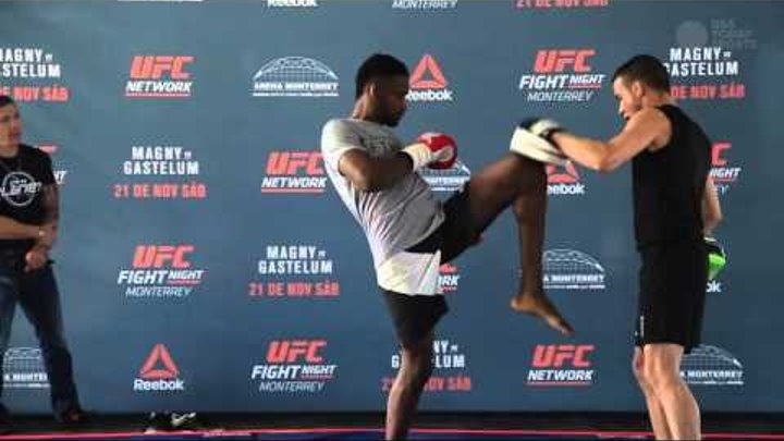 UFC Fight Night Monterrey: Open workout highlights