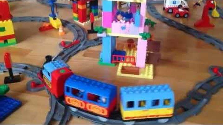 железная дорога лего дупло (поезд)