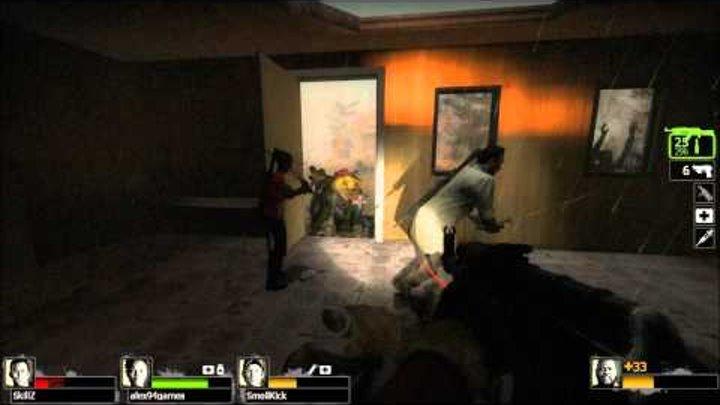 Left 4 Dead 2 Coop #11 Ужасный Ливень