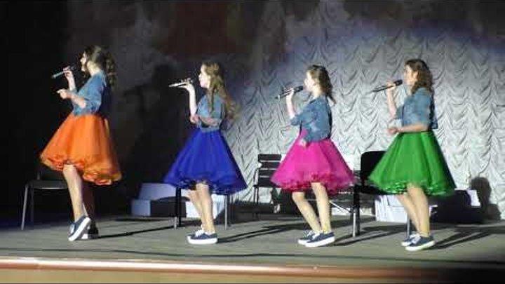 """Отчетный концерт 2.06.2018 """"Крутые девчонки"""" - """"Something you"""""""