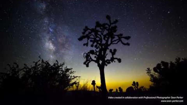 LG OLED TV - Минута красоты звездного неба