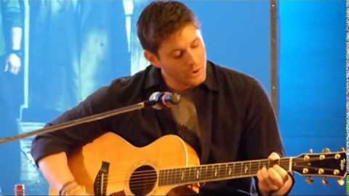 Дженсен Эклс (Jensen Ackles) Supernatural поёт под гитару