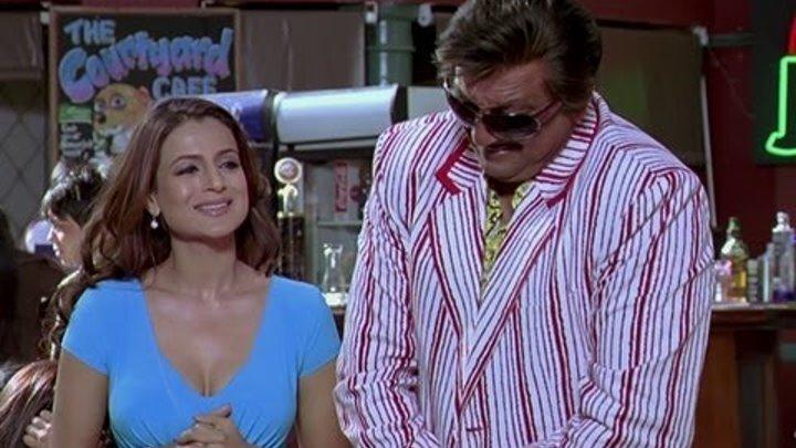 Sanjay Dutt Tries To Impress Ameesha Patel - Chatur Singh Two Star