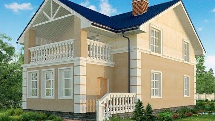Современные проекты красивых домов