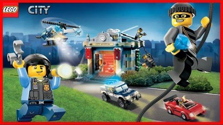 Мультики про машинки. ЛЕГО мультики - Супер полицейский 2. Лего Сити. Lego Sity. #Мультфильмы