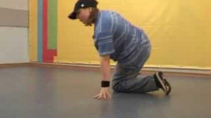 Обучающее видео break dance(брейк-данс): связка 1