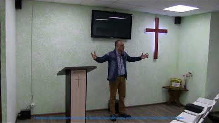 """Вечернее служение 21.03.18г. Тема:"""" Виртуально сыт не будешь"""". Проповедует пастор Александр Сиверин."""