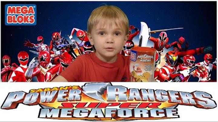 Power Rangers Megaforce Mega blocks Могучие Рейнджеры Мегафорс на русском
