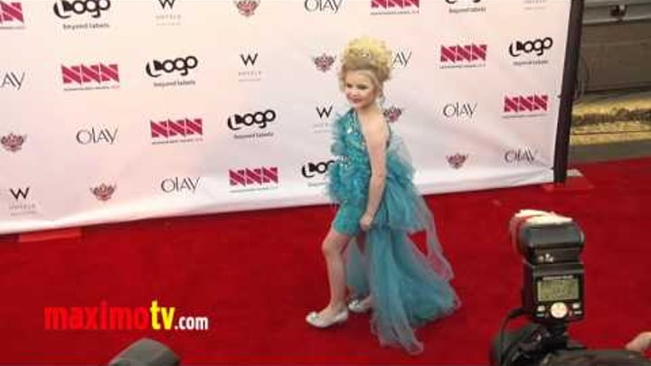 "Eden Wood Toddlers and Tiaras at Logo's ""NewNowNext"" Awards 2012 Arrivals"