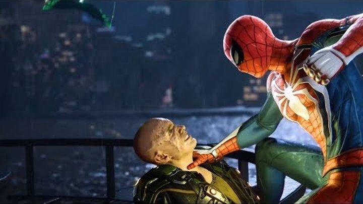 Человек Паук для PS4 Сюжетный трейлер