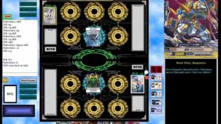 """Карточные бои Авангарда. Клан: Nova Grappler . Архетип """"Beast Deity """""""