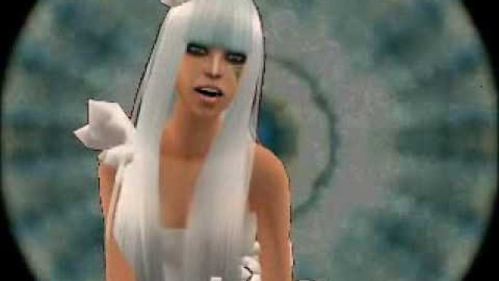 Poker Face - Lady Gaga Sims 2 Music Video