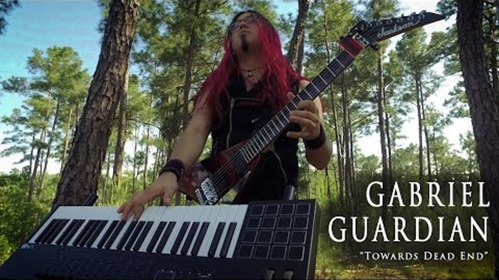 Towards Dead End - Children of Bodom Guitar Keyboard (Gabriel Guardian Cover)
