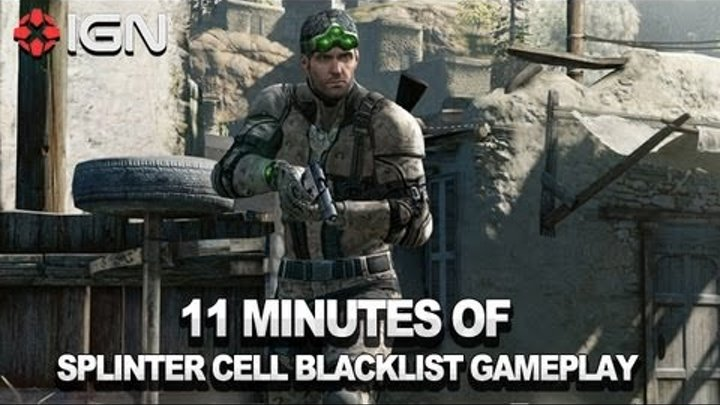 Splinter Cell Blacklist Gameplay - 11 Minute Clip