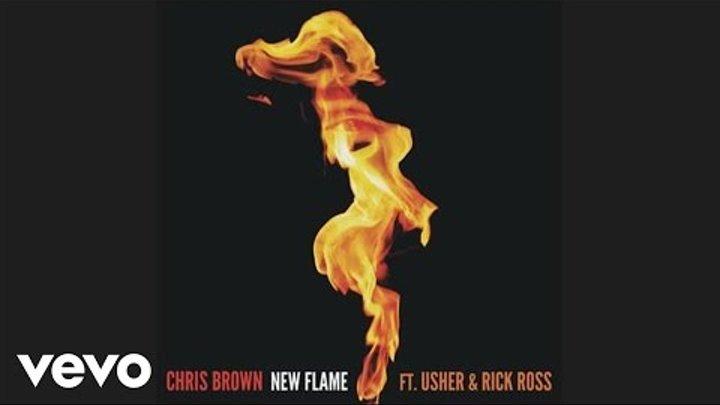 Chris Brown - New Flame (Edited Version) ft. Usher, Rick Ross